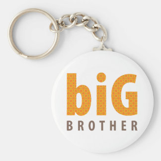 SIBLINGS COLLECTION - big brother {orange} Keychains