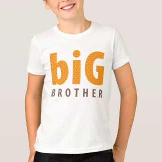 SIBLINGS COLLECTION - big brother {orange} T-Shirt