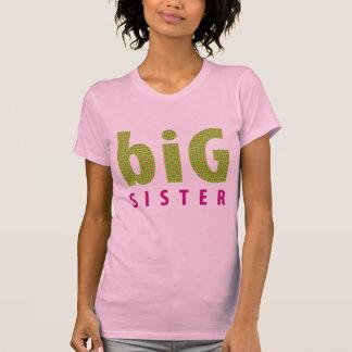 SIBLINGS COLLECTION - big sister {lime} Tee Shirt