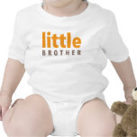 SIBLINGS COLLECTION - little brother {orange} Tees