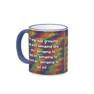 Siblings Coffee Mugs