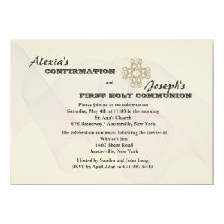 Siblings Religious Neutral Invitation