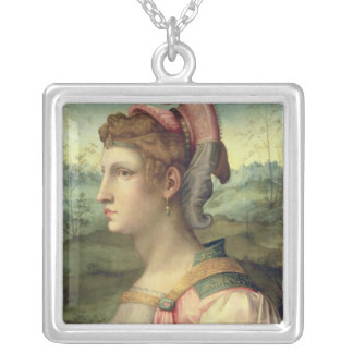 Sibyl, c.1540 silver plated necklace