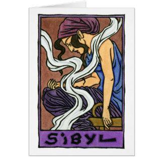Sibyl Greeting Card