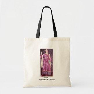 Sibyl Of Cumae By Andrea Del Castagno Tote Bag