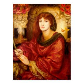 Sibylla Palmifera de Dante Gabriel Rossetti Tarjetas Postales