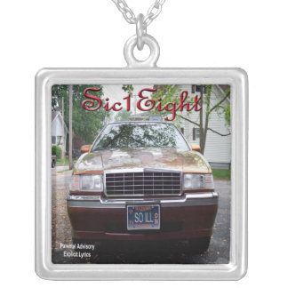 Sic1Eight So ILL album cover Silver Plated Necklace