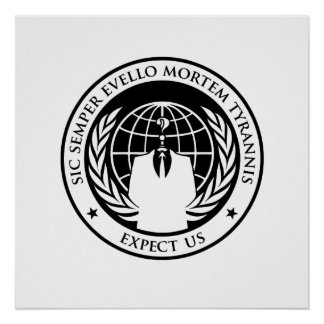 Sic anónimo Semper Evello Mortem Tyrannis Impresiones