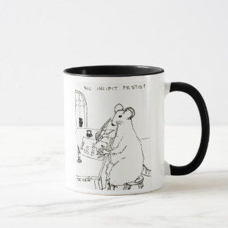 Sic Incipit Pestis mug