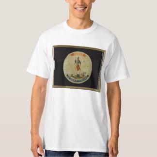 Sic semper tyrannis Virginian Battle Flag T-Shirt