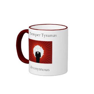 Sic Semper Tyranus Taza De Café