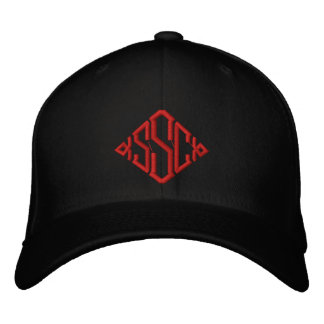 Sicc Surfing Company Fitted Hat Embroidered Hat