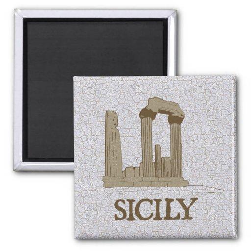 Sicilia antigua Agrigento arruina el imán