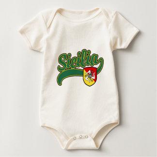 Sicilia Baby Bodysuits