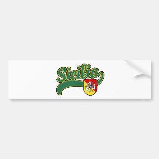 Sicilia Bumper Sticker