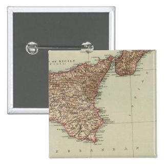 Sicilia, Cerdeña Pin Cuadrado
