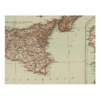 Sicilia, Cerdeña Postal