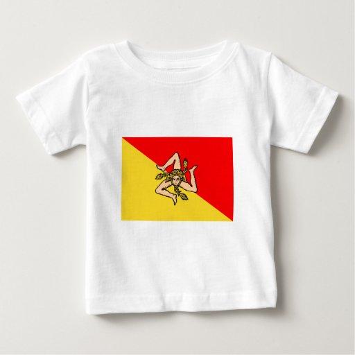 Sicilia flag t shirts