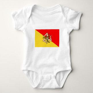 Sicilia flag tshirts