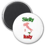 Sicilia Italia Imán De Frigorifico