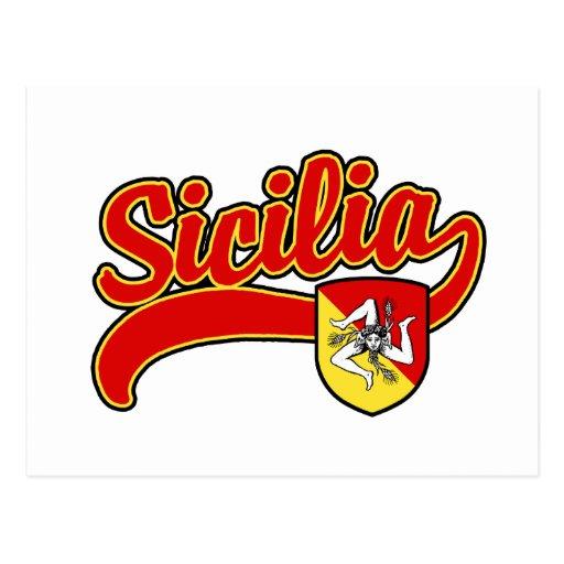 Sicilia Postcard