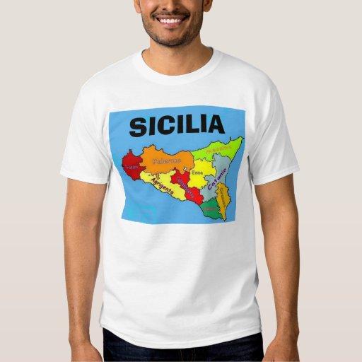 Sicilia, Sicily Tshirts