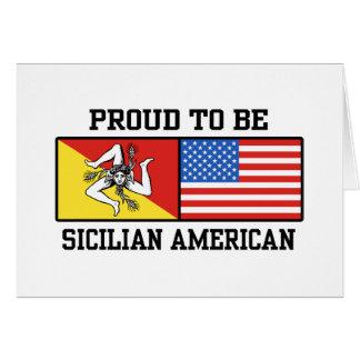 Sicilian American Card