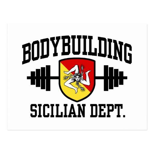 Sicilian Bodybuilder Postcard