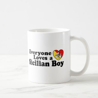 Sicilian Boy Coffee Mug