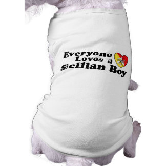 Sicilian Boy Doggie Tee Shirt