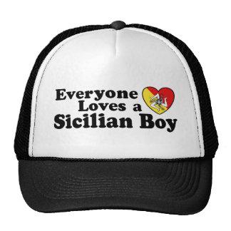Sicilian Boy Trucker Hat
