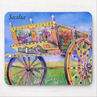 Sicilian Carretto Mouse Pad