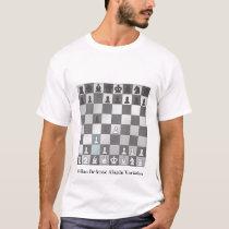 Sicilian Defense Alapin Variation T-Shirt