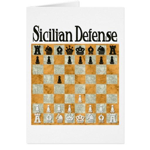 Sicilian Defense Card
