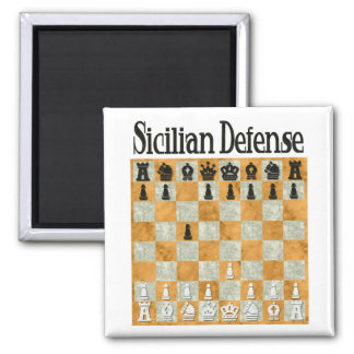 Sicilian Defense Magnet