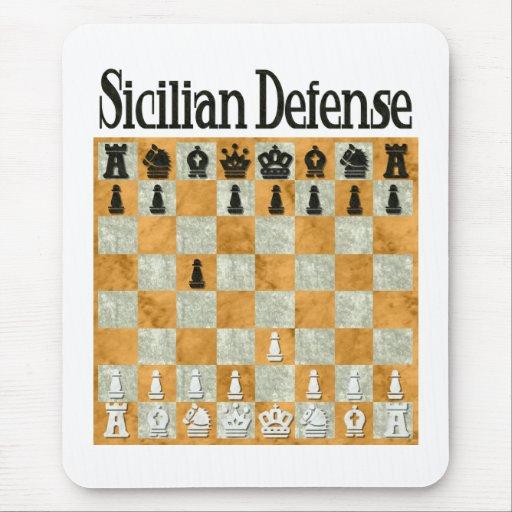 Sicilian Defense Mouse Mats