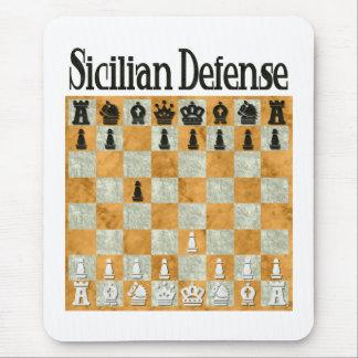 Sicilian Defense Mouse Pad
