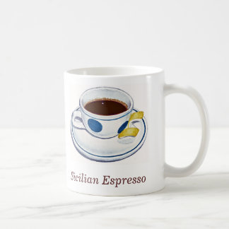 Sicilian Espresso Coffee Mug