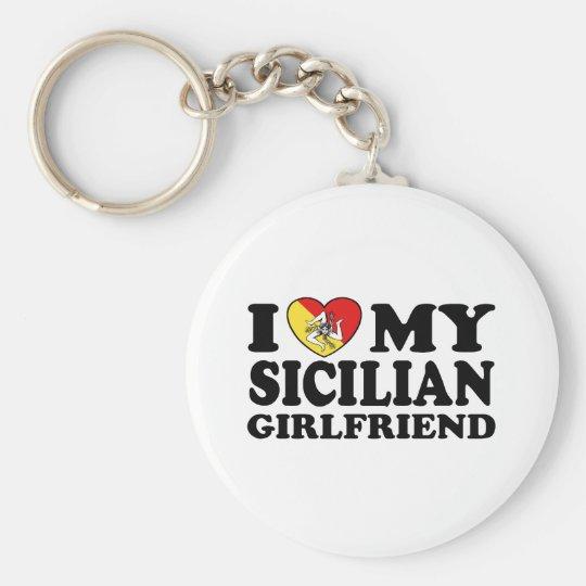 Sicilian Girlfriend Keychain