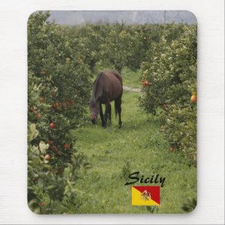 Sicilian Horse Mousepad