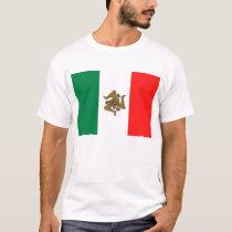 Sicilian Italian Flag T-Shirt