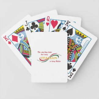 SICILIAN ITALIAN BICYCLE PLAYING CARDS
