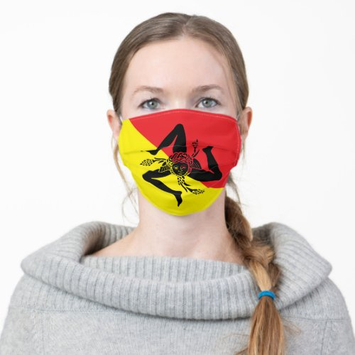Sicilian Pride Adult Cloth Face Mask