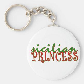 Sicilian Princess Key Chains