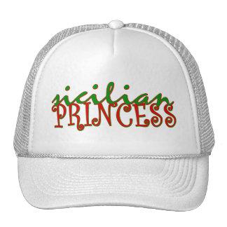 Sicilian Princess Trucker Hats