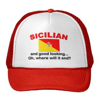 Siciliano apuesto gorras
