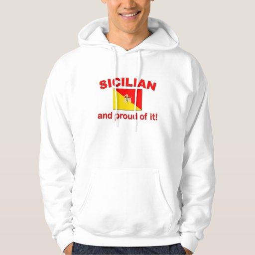 Siciliano orgulloso sudadera