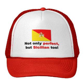 Siciliano perfecto gorras de camionero