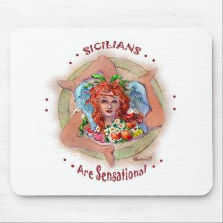 Sicilians are Sensational Mouse Pads