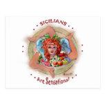 Sicilians es sensacional tarjeta postal